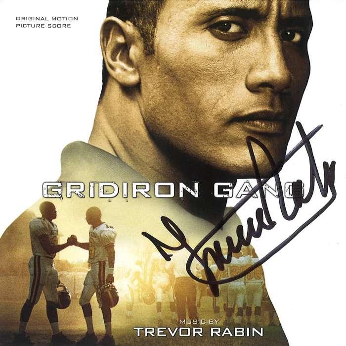 Gridiron Gang  (Original Motion Picture Score) - signed by Trevor - Trevor Rabin