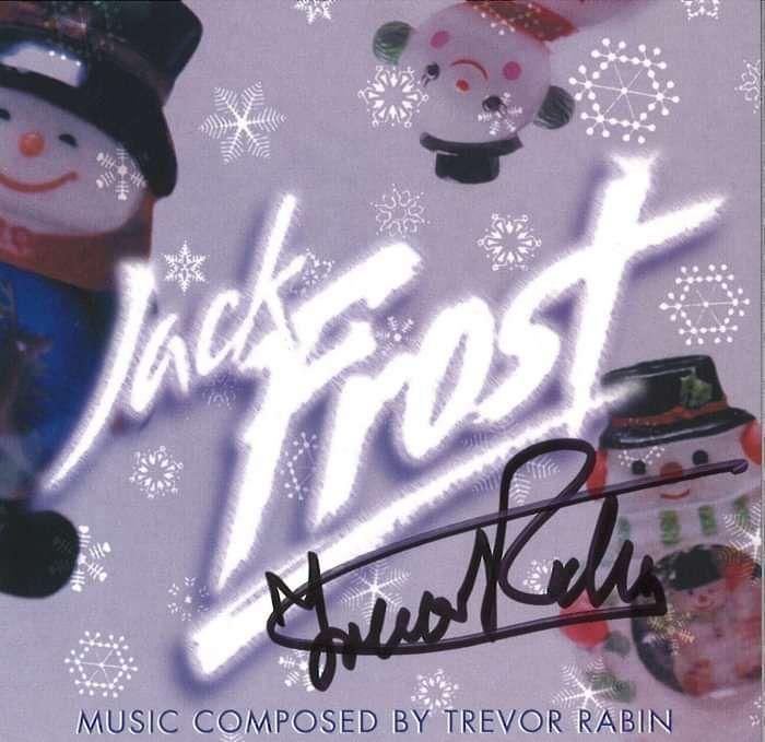 Jack Frost  (Original Motion Picture Score) - signed by Trevor - Trevor Rabin