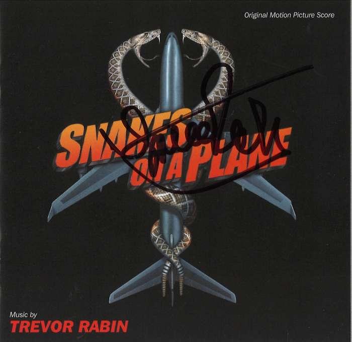 Snakes on a Plane  (Original Motion Picture Score) - signed by Trevor - Trevor Rabin