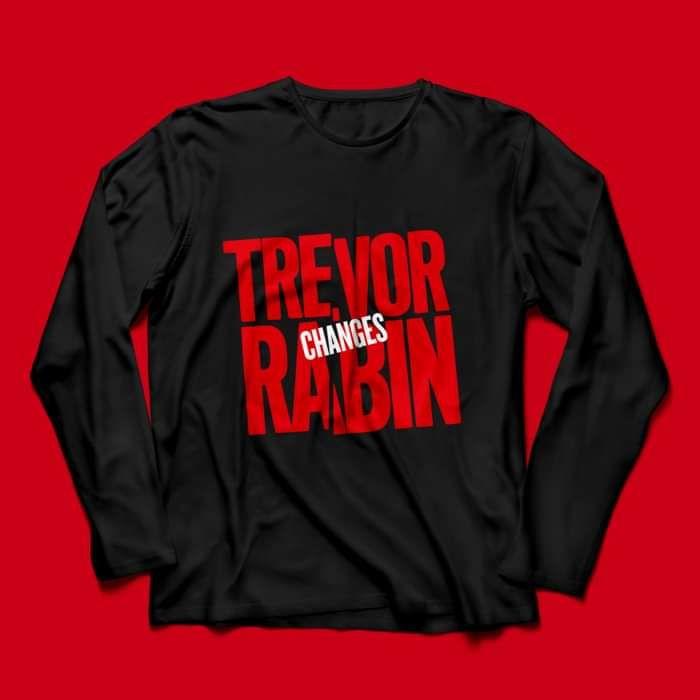 Trevor Rabin 'Changes' Long Sleeved T Shirt - Trevor Rabin