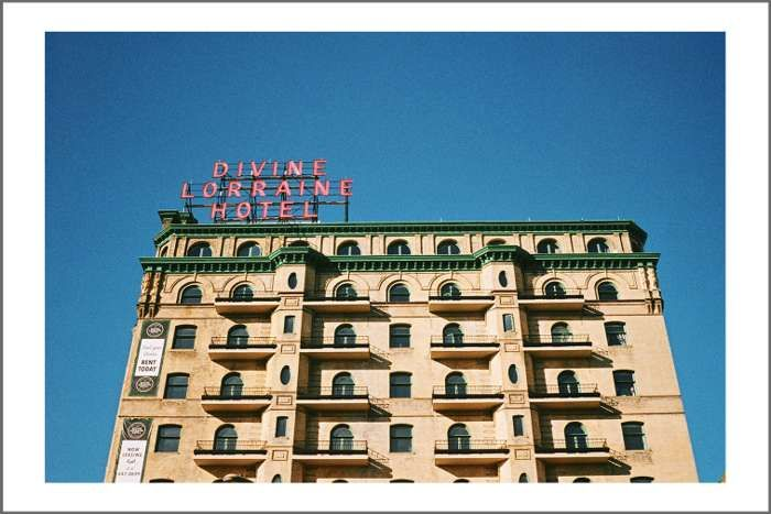 Signed Photo Print #5: Divine Lorraine Hotel by Tusks - Tusks