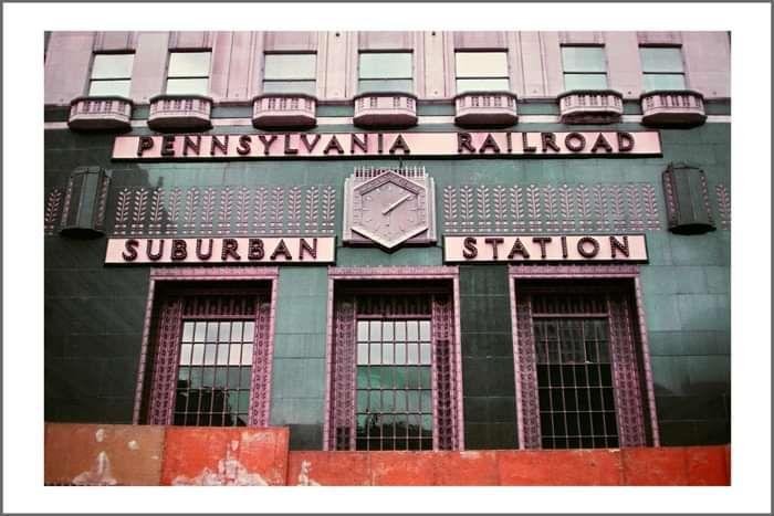 Signed Photo Print #6: Pennsylvania Railroad Suburban Station by Tusks - Tusks