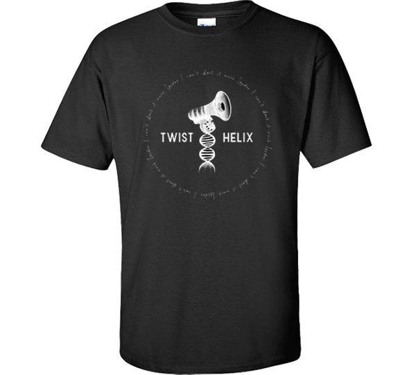 LOUDER tshirt - Twist Helix