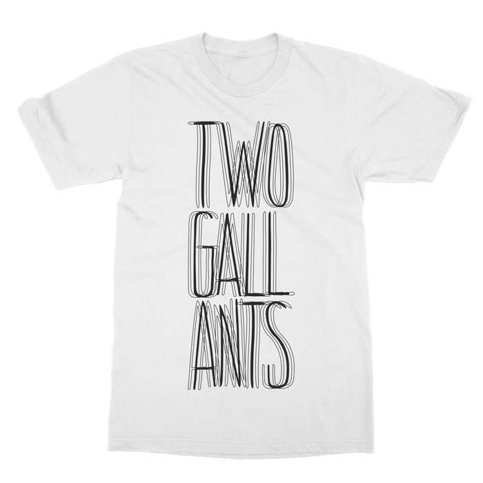 Blurry Text Tee - Two Gallants