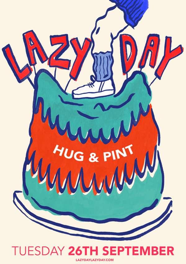 Lazy Day Hug & Pint Ticket - TYCI
