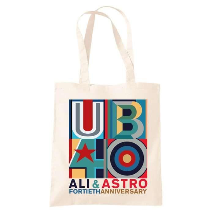 Ali & Astro Fortieth Anniversary Tote Bag - UB40