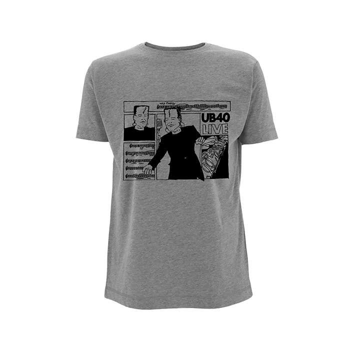 Food For Thought – Grey Tee - UB40
