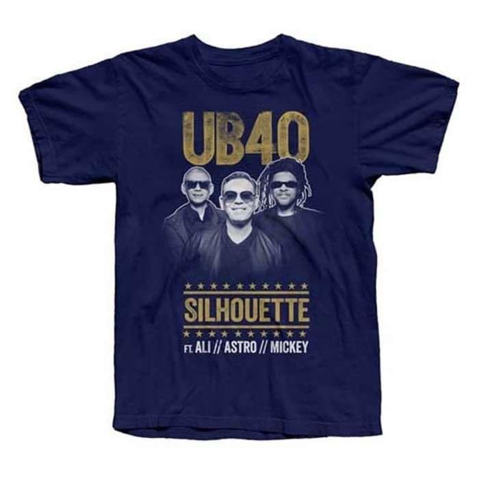 Navy 'Silhouette Tour' Tee - UB40