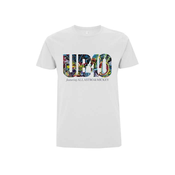 Real Labour of Love – White Tee - UB40
