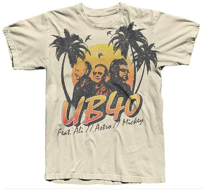 Sand Mens Palm Tee (online exclusive) - UB40
