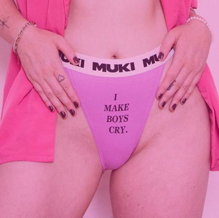 I Make Boys Cry Bossy Bitch Panties - Muki