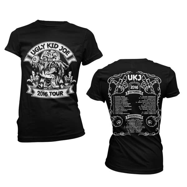 Finger Kid Tour – Girls Tee - Ugly Kid Joe