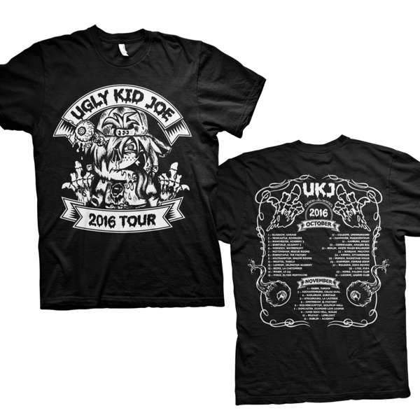 Official Shop Clothing Ugly Kid Joe