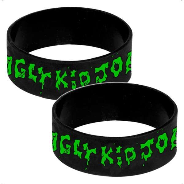Green Logo - Silicone Wristband - Ugly Kid Joe