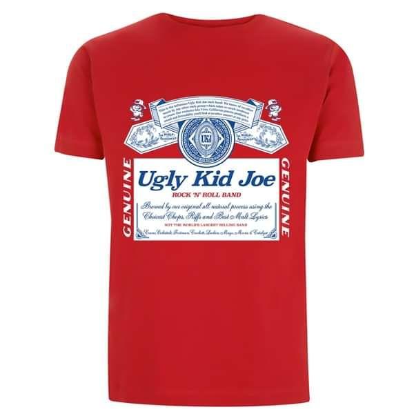 King Of Bands - Red Tee - Ugly Kid Joe
