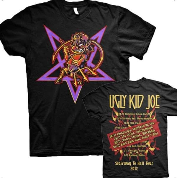 Pentagram Winter Tour 2012 Tee - Ugly Kid Joe