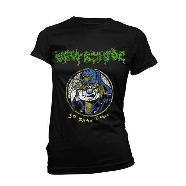 So Damn Cool Vintage - Ladies Black Tee - Ugly Kid Joe
