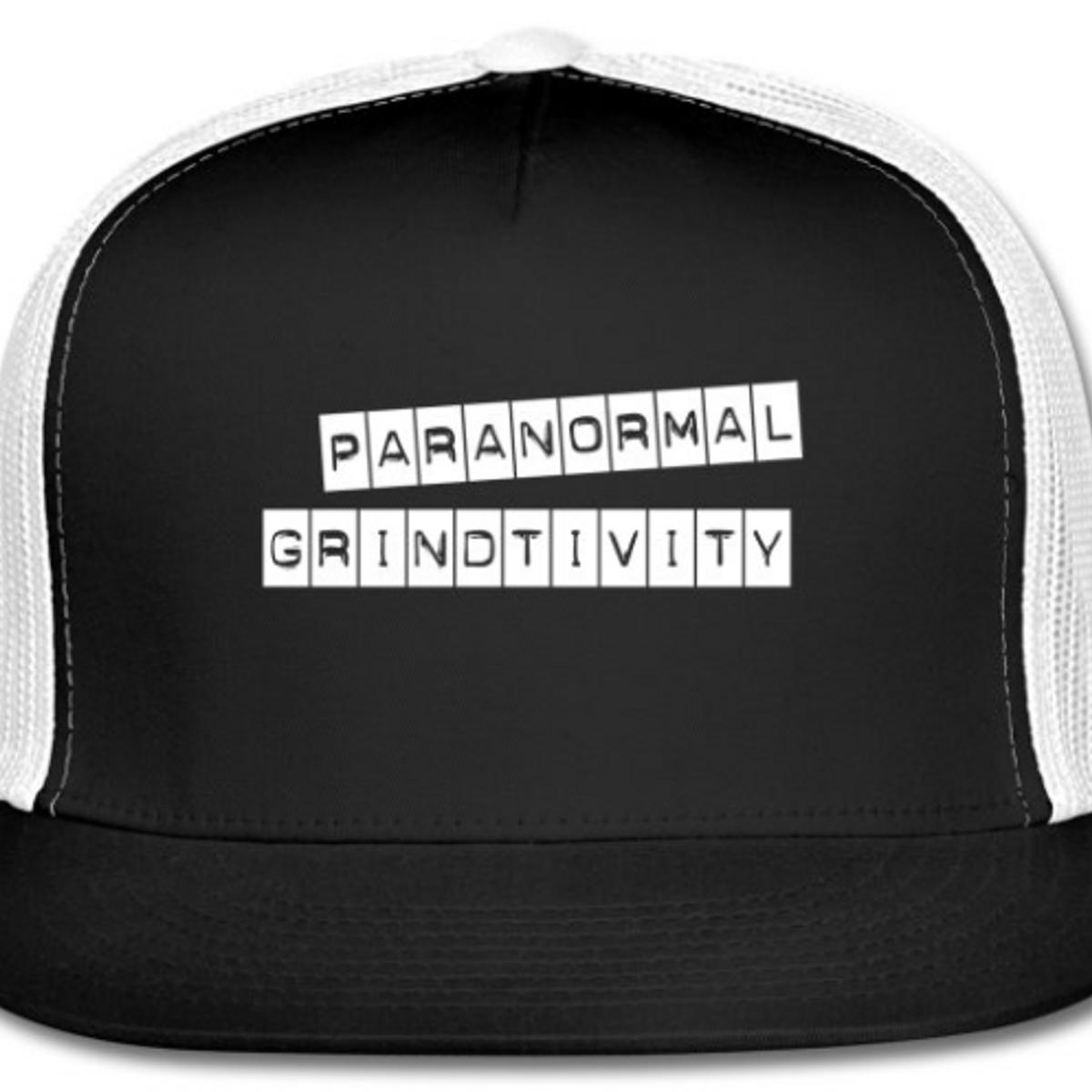 ed6511f1864 Paranormal Grindtivity Trucker Hat - Undastreet