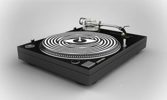 Hypnotic Eye - Vinyl Slipmats - Unearthly Vision
