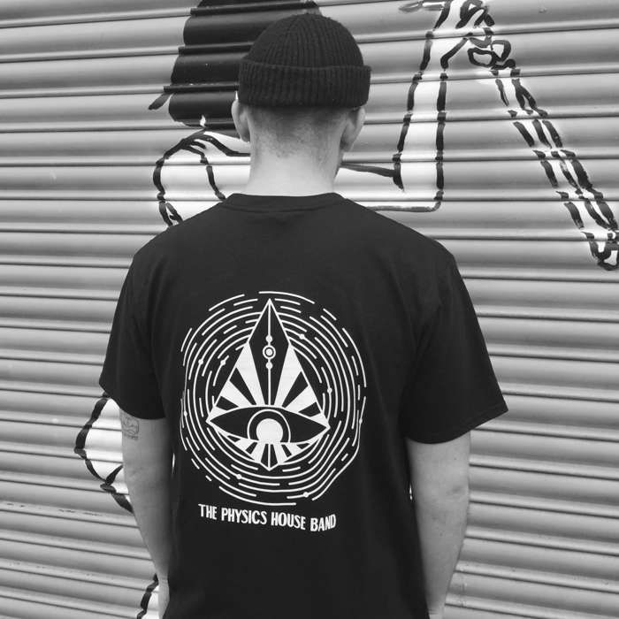 *New* Black Logo T-Shirt - Unearthly Vision