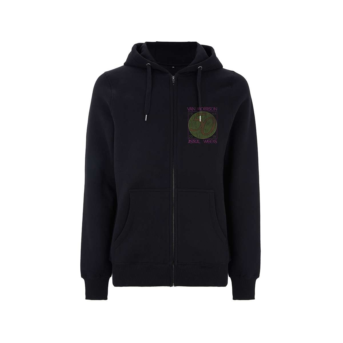 Astral Weeks 50th – Black Zip Hood - Van Morrison US