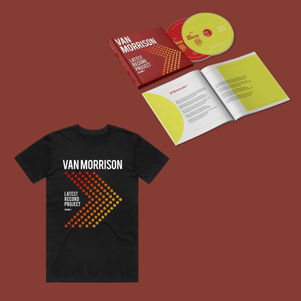 Van Morrison - Latest Record Project Volume 1 - Book Bound 2CD & T-Shirt Bundle - Van Morrison US