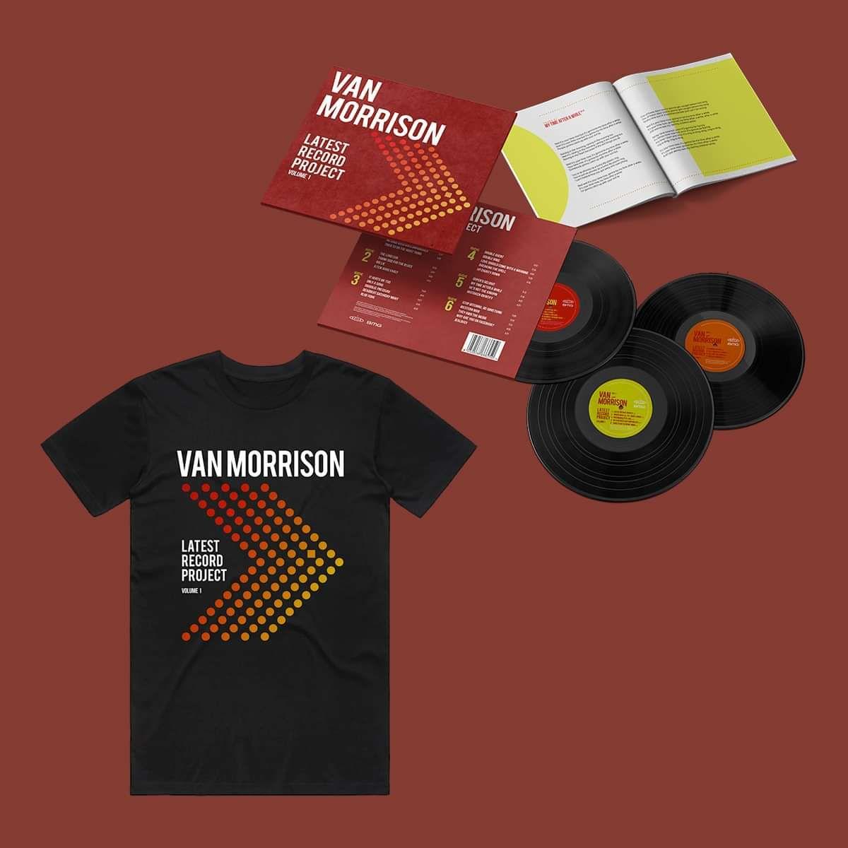Van Morrison - Latest Record Project Volume 1 - Triple Vinyl & T-Shirt Bundle - Van Morrison US