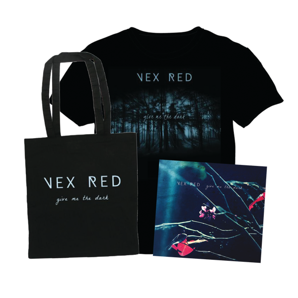 'Give Me The Dark' EP / Tote / T-Shirt Bundle + 'Tarantula' Download - VEX RED SHOP
