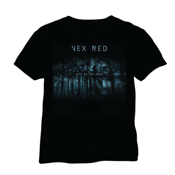 'Give Me The Dark' T-Shirt - VEX RED SHOP