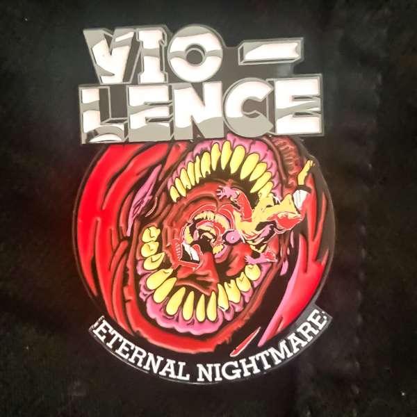 External Nightmare PIN - Vio-lence