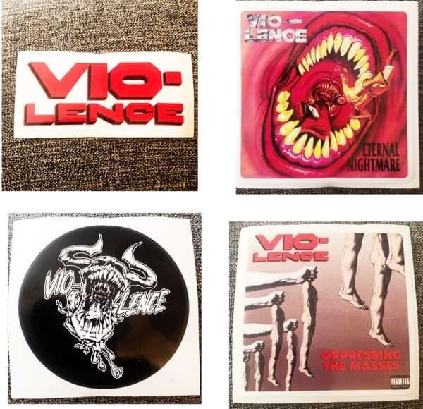 Vio-Sticker variety pack - Vio-lence