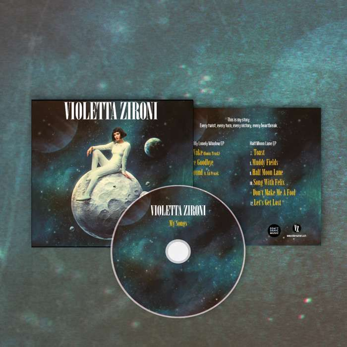 My Songs CD - Violetta Zironi