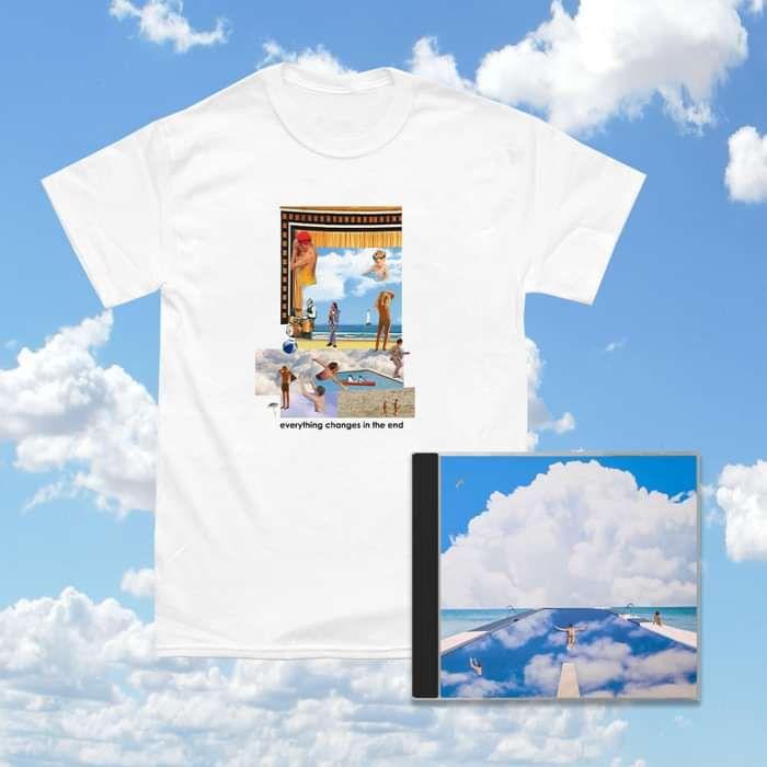 album and tee bundle - Vistas BELIEVE