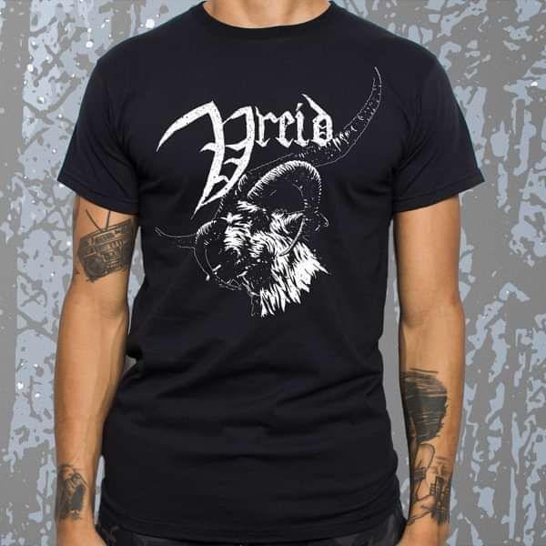 Vreid - 'Goat Head' T-Shirt - Vreid