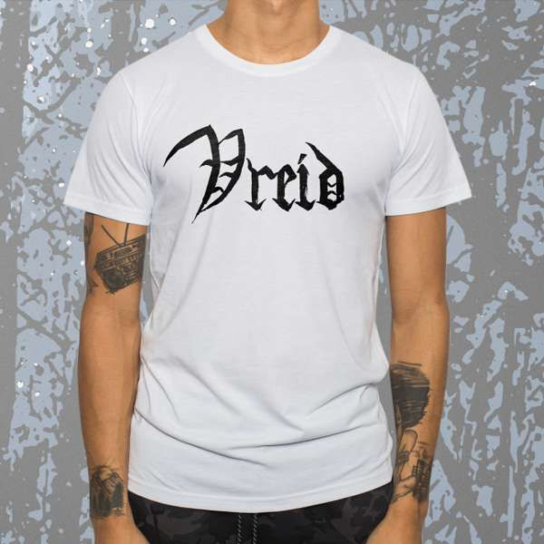 Vreid - 'Lifehunger' White T-Shirt - Vreid