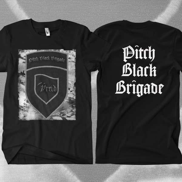 Vreid - 'Pitch Black Brigade' T-Shirt - Vreid
