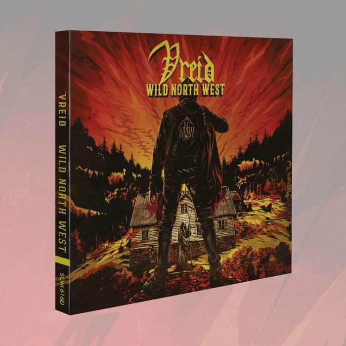 Vreid - 'Wild North West' Digipak CD - Vreid