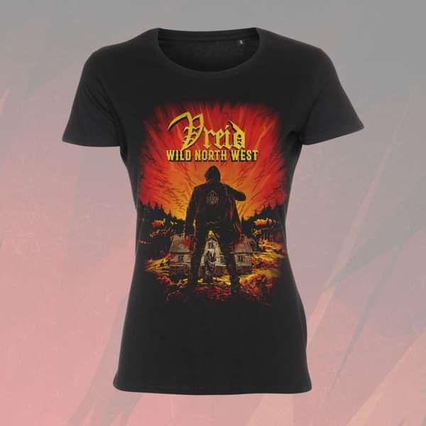 Vreid - 'Wild North West' Girls T-Shirt - Vreid