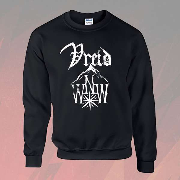 Vreid - 'Wild North West Logo' Sweatshirt - Vreid
