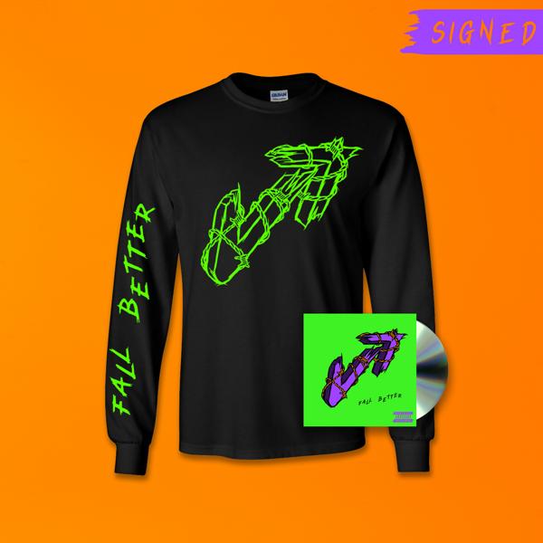 Fall Better - CD + Long Sleeve T-Shirt Bundle - Vukovi