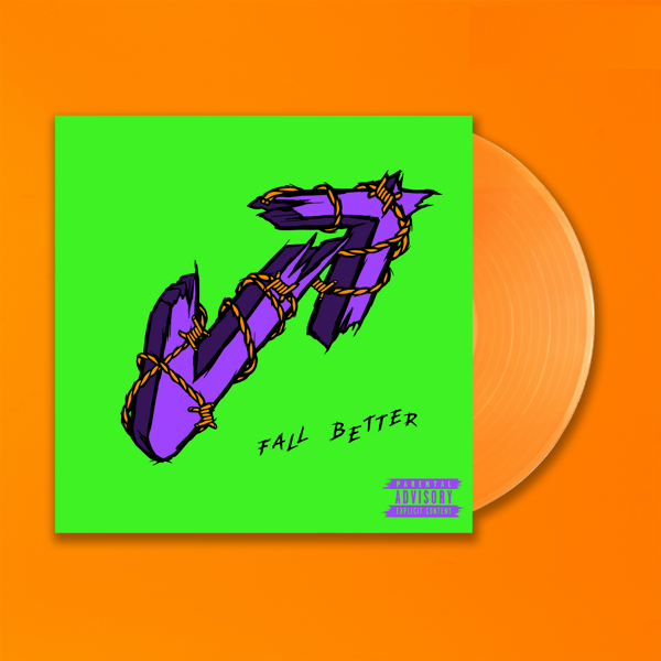 Fall Better - Exclusive D2C Orange Vinyl LP - Vukovi