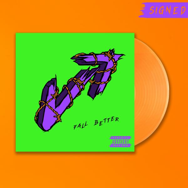 Fall Better - Exclusive Signed Orange Vinyl LP - Vukovi