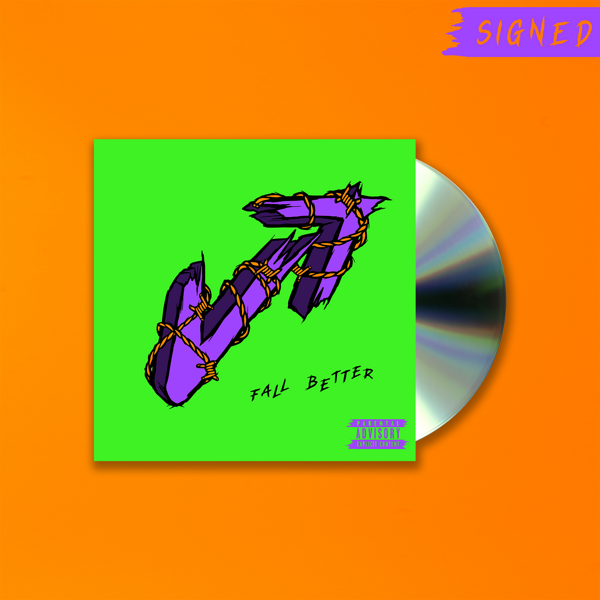 Fall Better - Signed CD - Vukovi