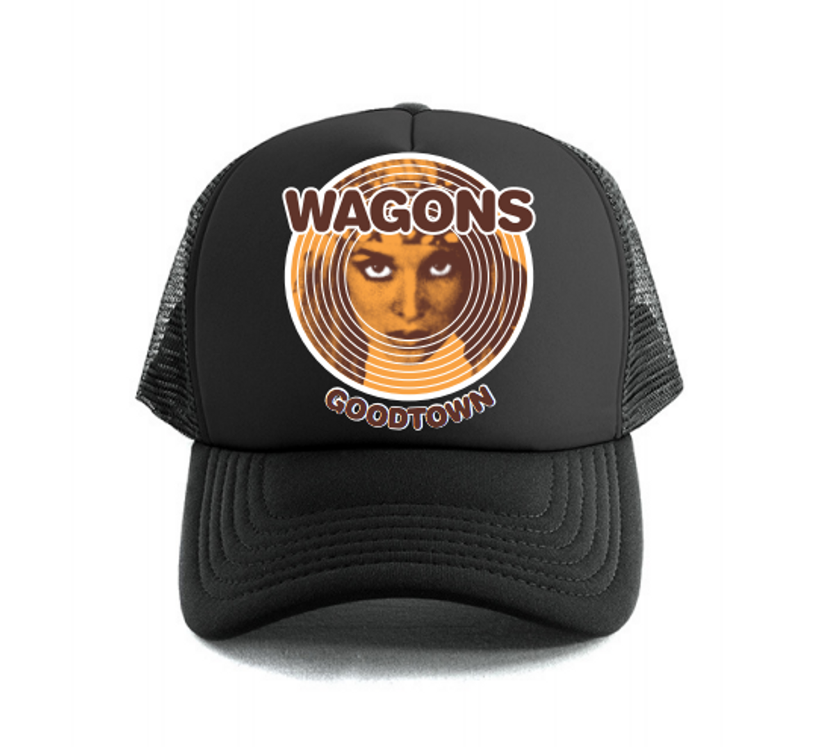 """Goodtown"" Trucker Cap - Wagons"