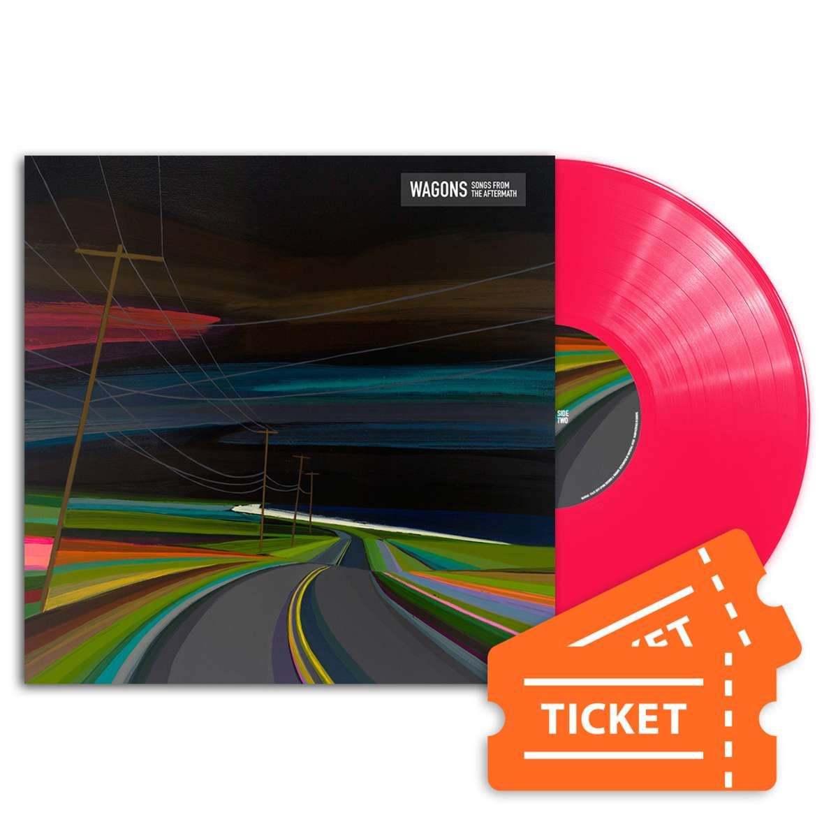 """Tickets + Songs From The Aftermath 12"""" Vinyl - Wagons"""