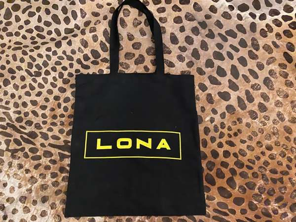 LONA Black Tote Bag - Lona