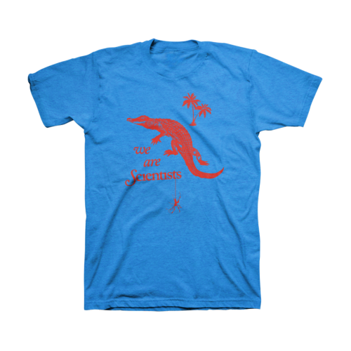 Alligator t-shirt - We Are Scientists