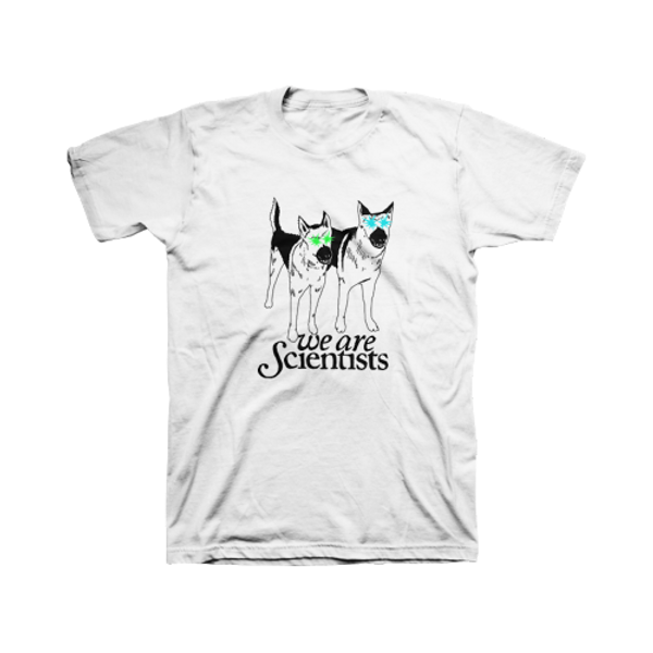 Double Dog t-shirt - We Are Scientists