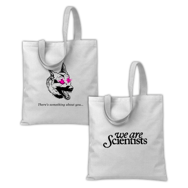 """Something About You"" tote bag - We Are Scientists"