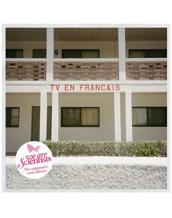 TV en Français vinyl - We Are Scientists